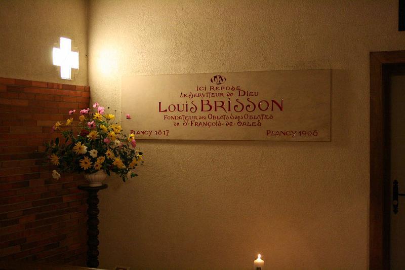 Brissons Grab heute