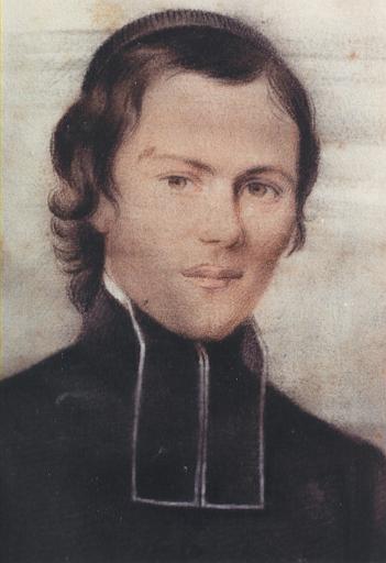 Brisson als Seminarist